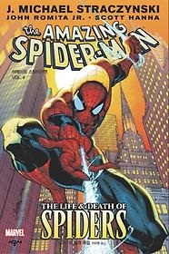 """<font title=""""어메이징 스파이더맨 Vol. 4: 거미의 삶과 죽음"""">어메이징 스파이더맨 Vol. 4: 거미의 삶과 ...</font>"""